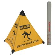 HANDY CONE 17177I Floor Sign, Watch Your Step, Eng