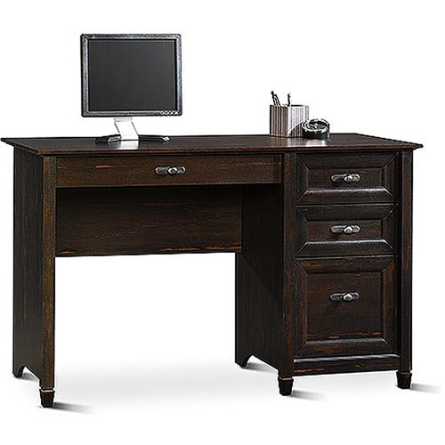 Sauder New Cottage Desk, Antiqued Black Paint - Walmart.com