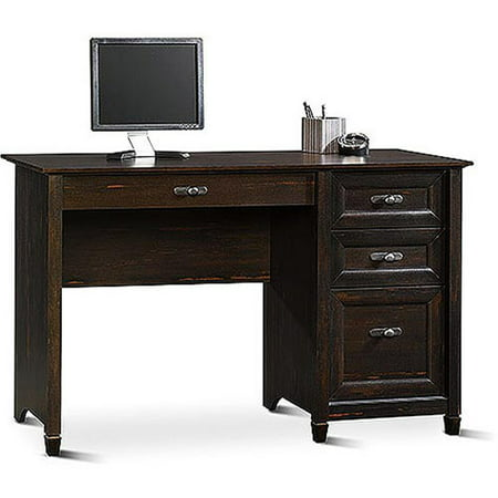 Sauder New Cottage Desk, Antiqued Black Paint