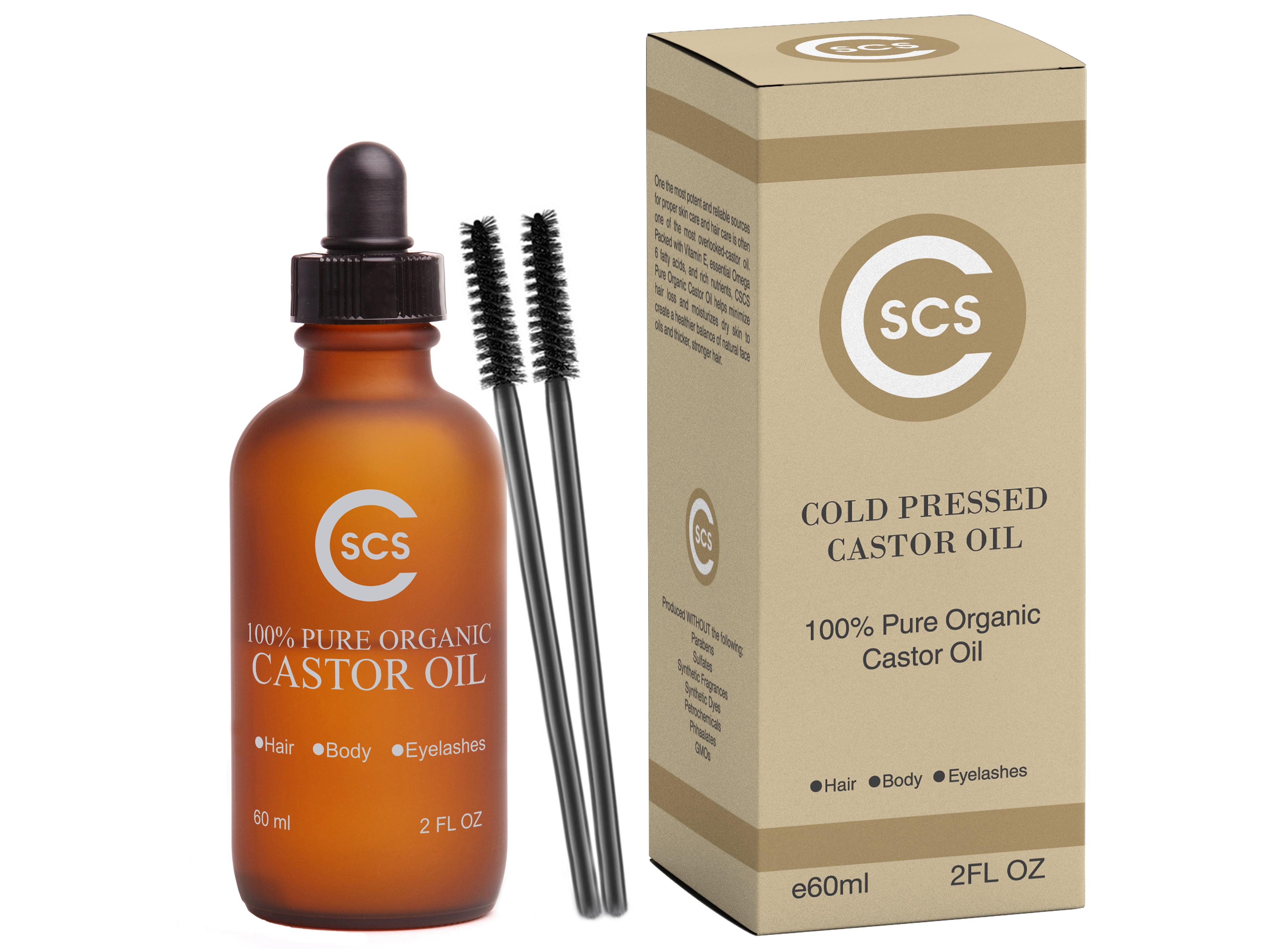 532031665f9 Pure Castor Oil for Eyelashes - Walmart.com