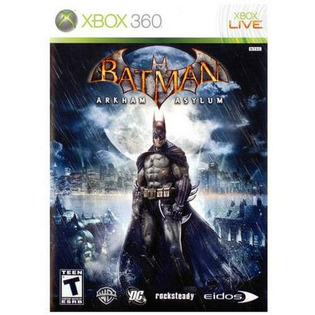 Eidos Batman: Arkham Asylum (Xbox 360) - (Arkham Asylum Game)