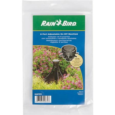 Rain Bird Corp. Consumer 9 Port Adjstbl  Manifold MANIFPRPS2
