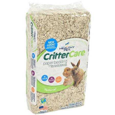 Crittercare: Light Brown/Natural For Small Animals Bedding, 14 L - (1), For small animals By Critter Care Ship from US