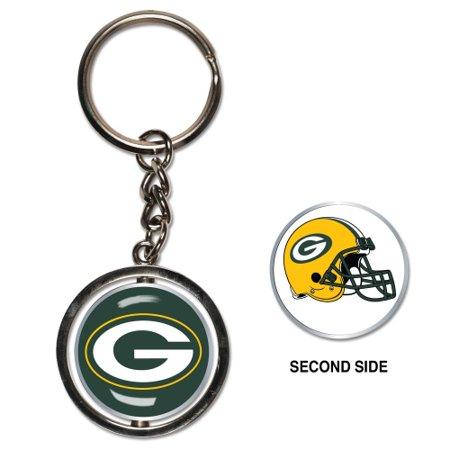 Parker Key (Green Bay Packers Spinner Key Ring - No)