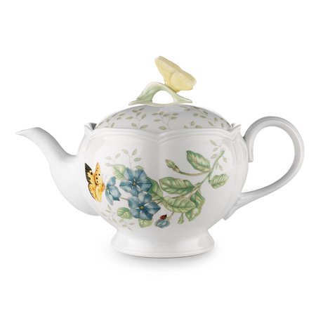 Lenox Butterfly Meadow Teapot with Lid