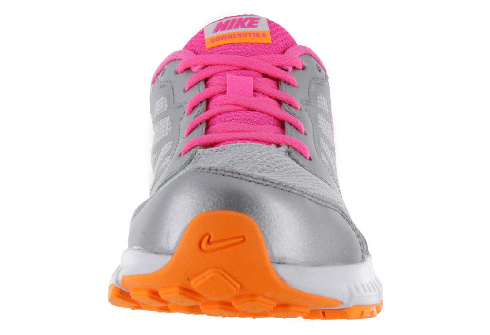 Nike G Downshifter 6 Athletics Platinum/Bright Citrus/Silver/Pink Pow