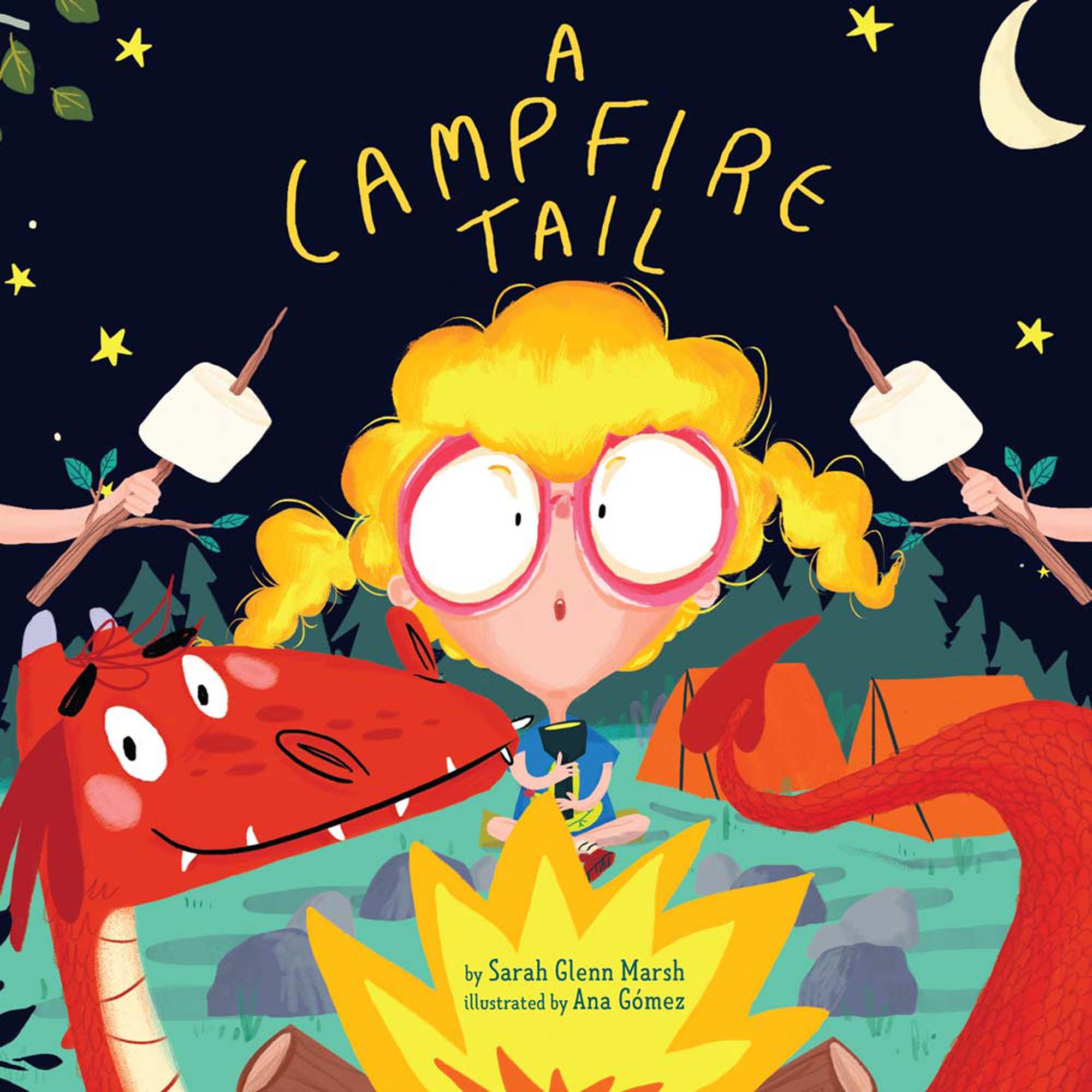 A Campfire Tail (Hardcover)