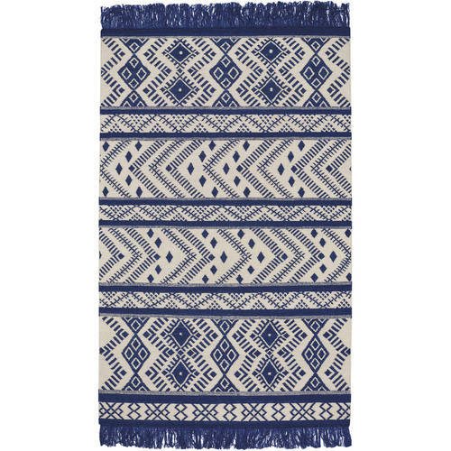 Genevieve Gorder Abstract Flat Woven Area Rug, Assorted Colors and Sizes