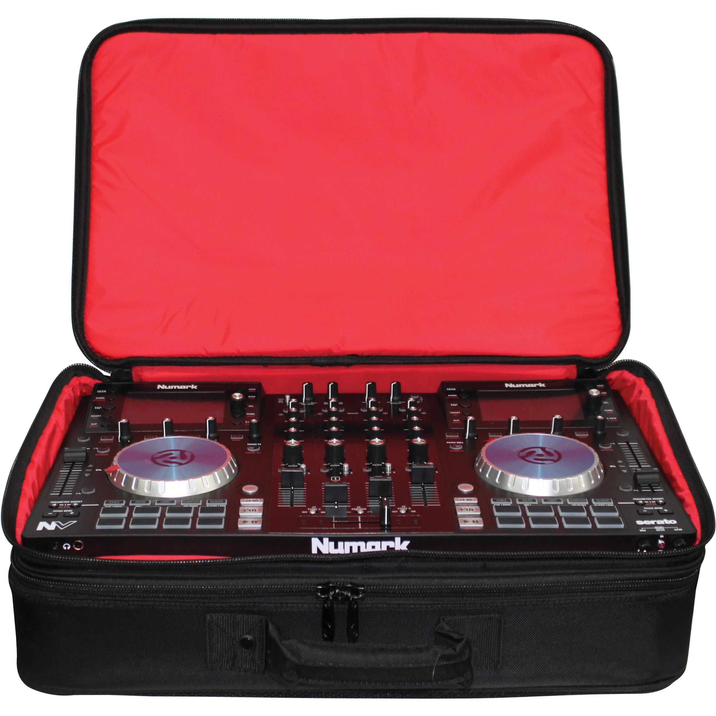 Odyssey BRLDIGITALXLE Redline Series Digital XLE DJ Controller & Gear Bag by Odyssey