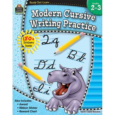 Ready-Set-Learn: Modern Cursive Writing Practice Grd 2-3 - Teacher Resources