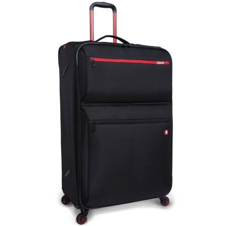Coleman 26in TruLite, Light Weight Spinner Luggage Black