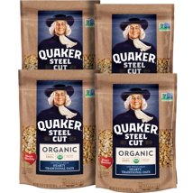 Oatmeal: Quaker Steel Cut Oats Organic