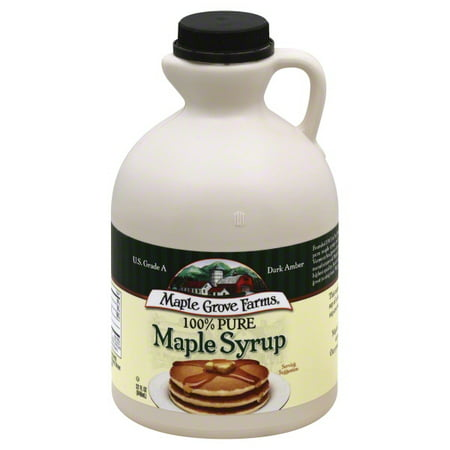 B & G Foods Maple Grove Farms  Maple Syrup, 32 oz (Maple Syrup 32 Oz)