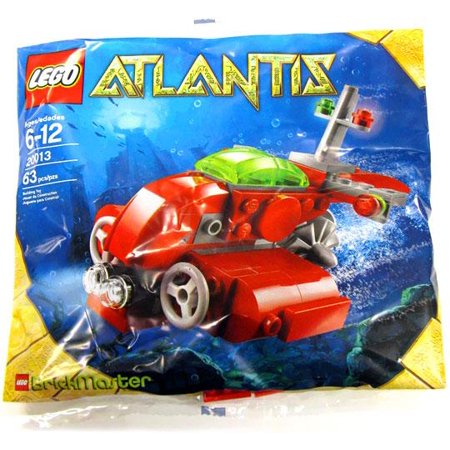 Atlantis Submarine - Atlantis Submarine Mini Set LEGO 20013 [Bagged]