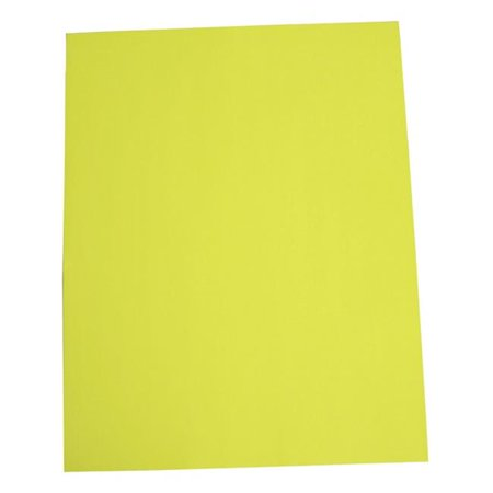 Yellow Poster Board (22 x 28 in. Poster Board, Fluorescent Yellow - Pack of)