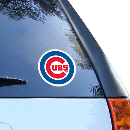 Chicago Cubs 8'' x 8'' Team Logo Die-Cut Decal - No - Chicago Cubs Logo Ball