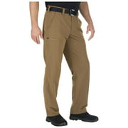 5.11 Tactical Men's Fast-Tac Urban Pants, Water-Resistant Finish, Self-Adjusting Waistband, Battle Brown, 42Wx32L, Style 74461