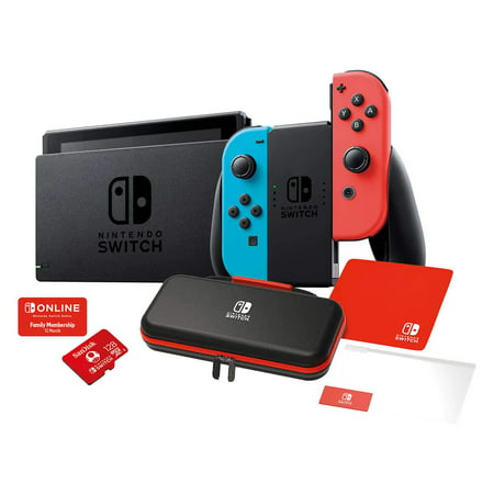 Nintendo Switch Gaming Console system 4 items Bundle