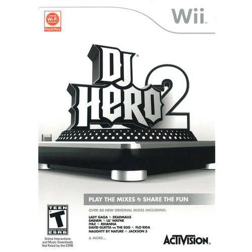 Dj Hero 2 (Wii) - Pre-Owned - Game only