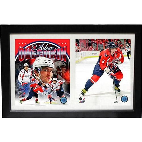 NHL Alexander Ovechkin Double Custom Frame, 12x18