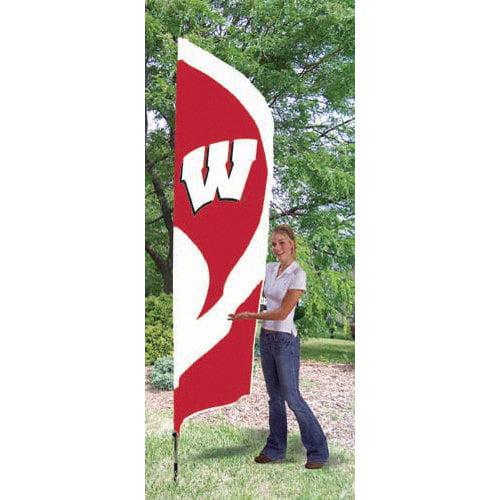 NCAA - Wisconsin Badgers Team Pole Flag