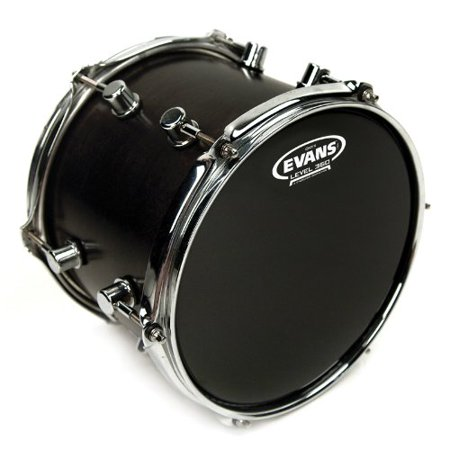 "Onyx Drum Head, 10 Inch, 10"" drum head made using two plies of 7.5mil film By Evans Ship from US"