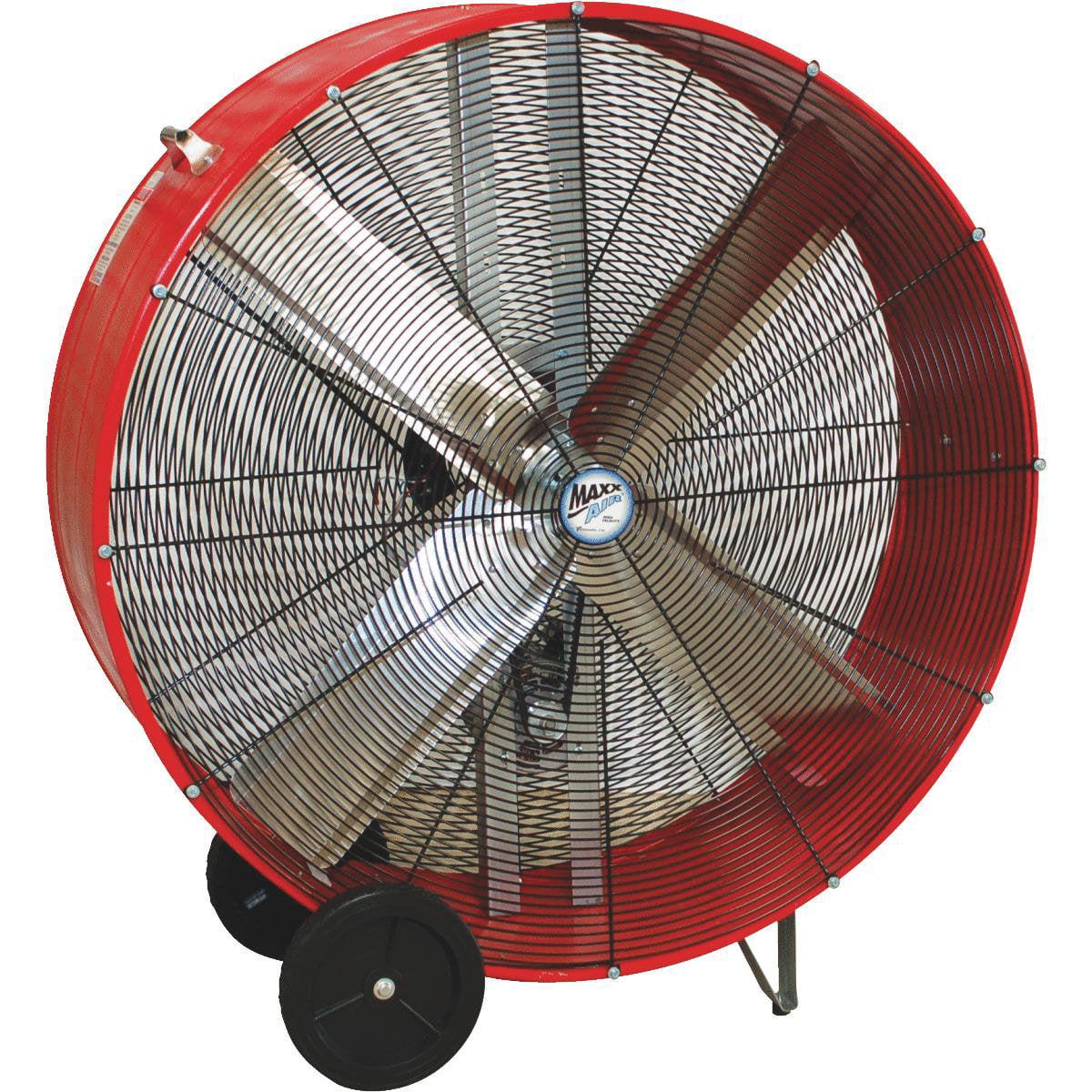 Maxxair Ventamatic Maxx Air Belt Drive Industrial Drum Fan
