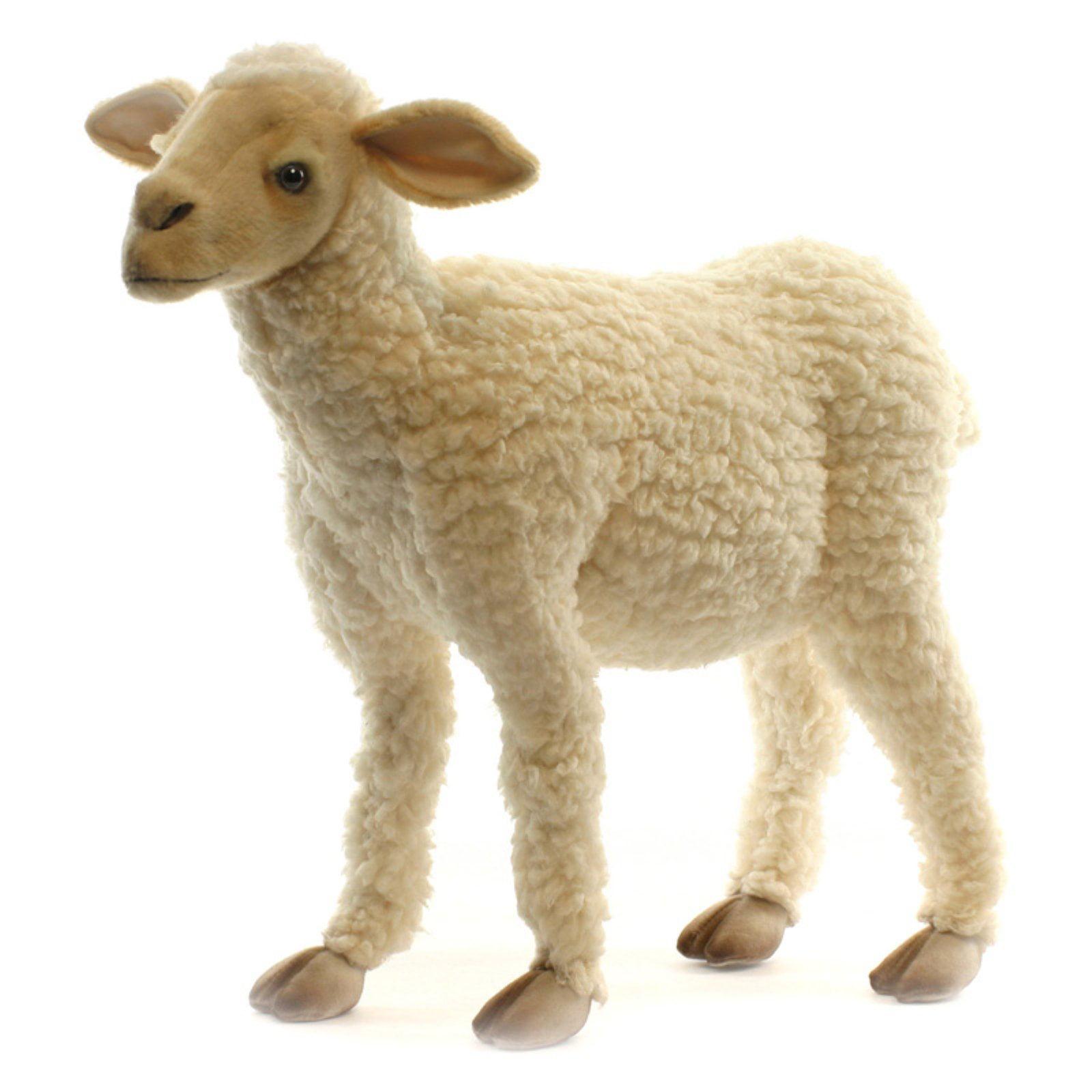 """Hansa Plush Life-Size Baby Lamb, 20"""""""