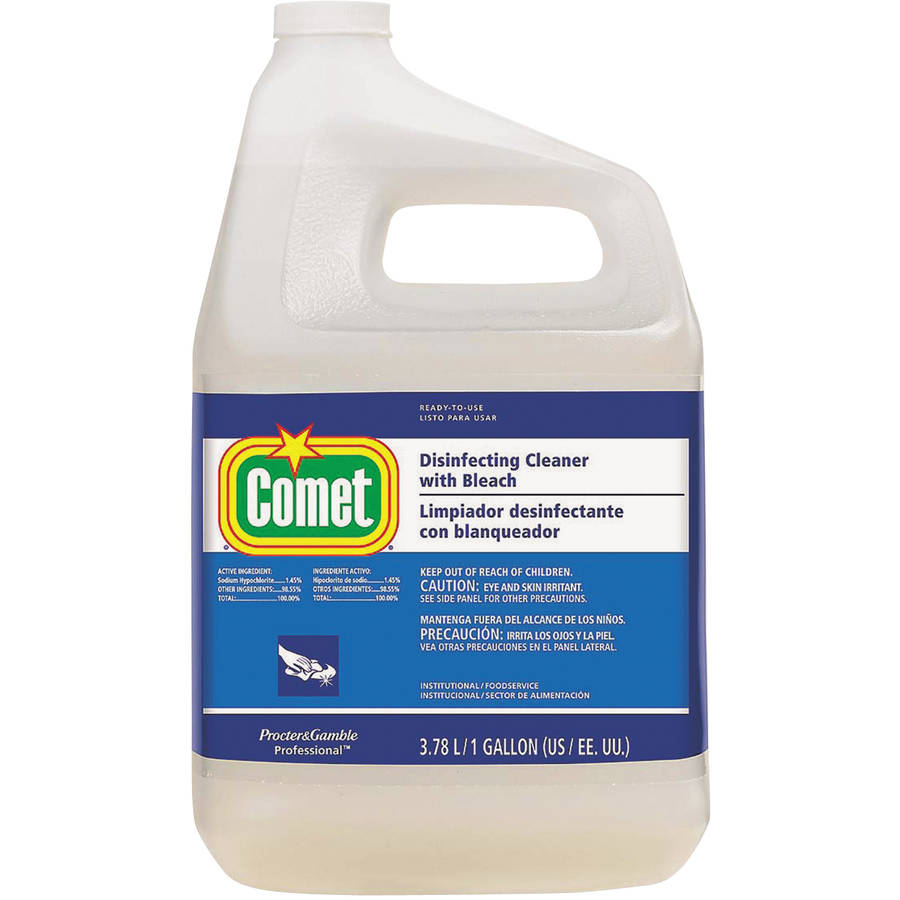 Comet Disinfecting Cleaner with Bleach, 128 fl oz