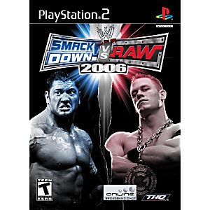 WWE Smackdown Vs. Raw 2006- PS2 Playstation 2 (Best Of Raw And Smackdown 2019)
