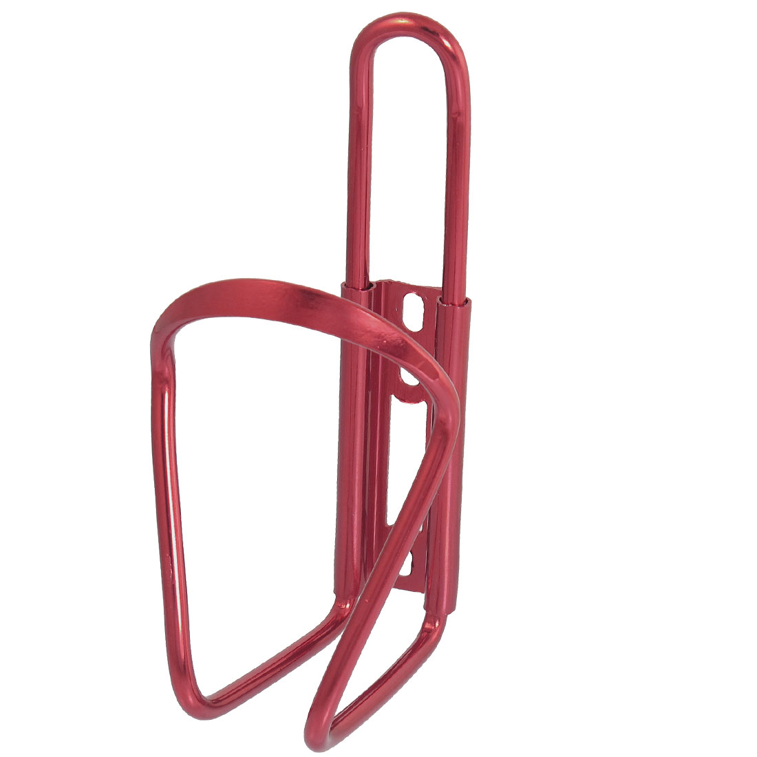 Unique Bargains Aluminum Alloy Portable Mountain Cycling Bicycle Bike Water Bottle Holder Cage Red
