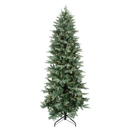 washington frasier fir pre lit slim christmas tree