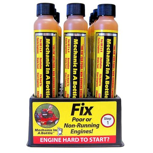 Maxpower Precision Parts 337129 4 Oz Mechanic In A Bottle Gas Treatment Pack Of 12