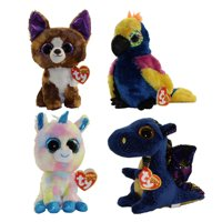 2854debeac0 Product Image TY Beanie Boos - WINTER 2017 Releases SET of 4 (Regular Size  - 6 inch