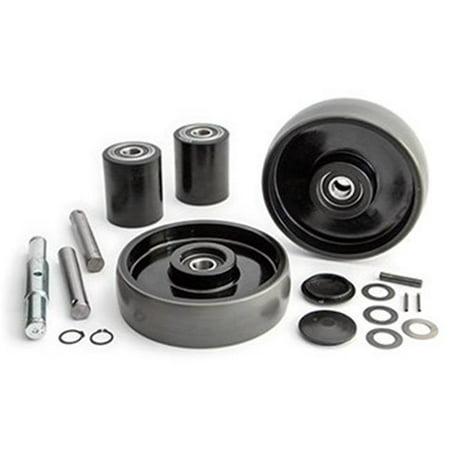 Global Gwk 334475 Ck 334475 Pallet Jack Complete Wheel Kit Walmart Com