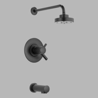 Brizo T60475-BL Matte Black Jason Wu for Tub Shower - Medium
