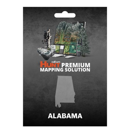 Onxmaps Hunt Alabama   Gps Map With Hunting Land Owner Data For Garmin  Microsd Sd Card   Smartphone    Computer