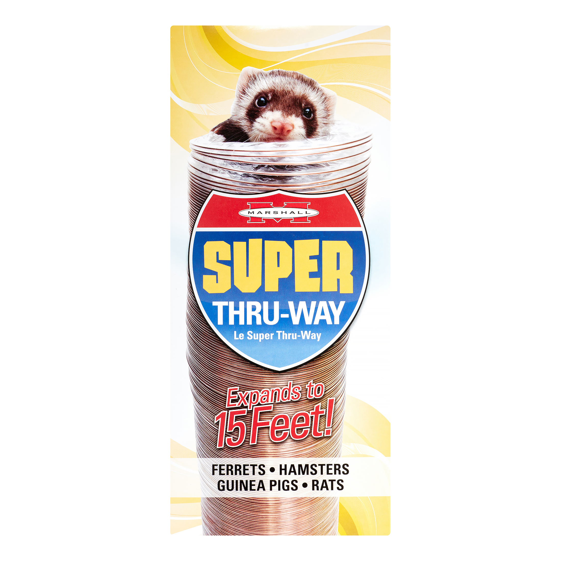 Marshall Pet Products Super Thru-Way Toy for Ferrets