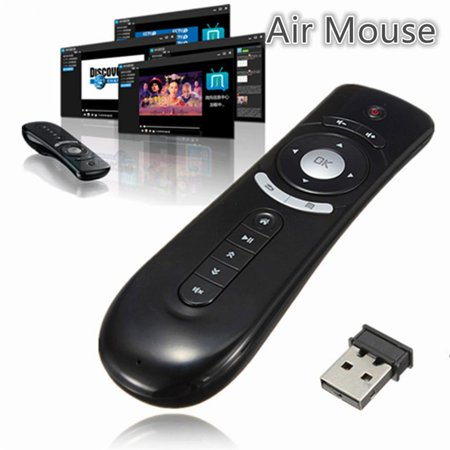 c87f3830618 T2 Remote Control Gyroscope Mini Fly T2 Air Mouse Wireless Keyboard Mouse  with Motion Sensing Silicone - Walmart.com