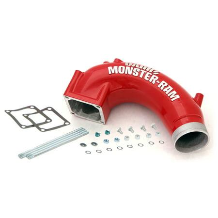 Banks Power 03-07 Dodge 5.9L w/ Stock Intercooler Monster-Ram Intake - Banks Monster Muffler