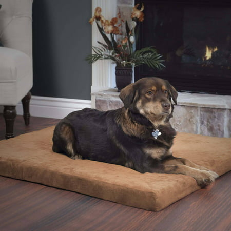 PETMAKER Orthopedic Super Foam Pet Bed, Clay