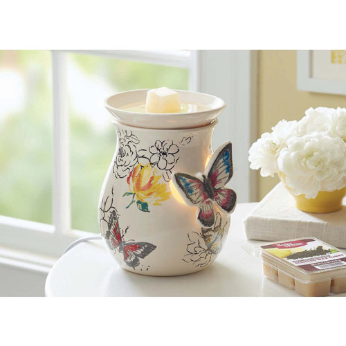 Better Homes and Gardens Full-Size Wax Warmer, Butterflies