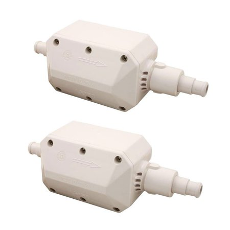 Pentair Part E10 Legend Swimming Pool Cleaner Back Up Valve Replacement (2 Pack)
