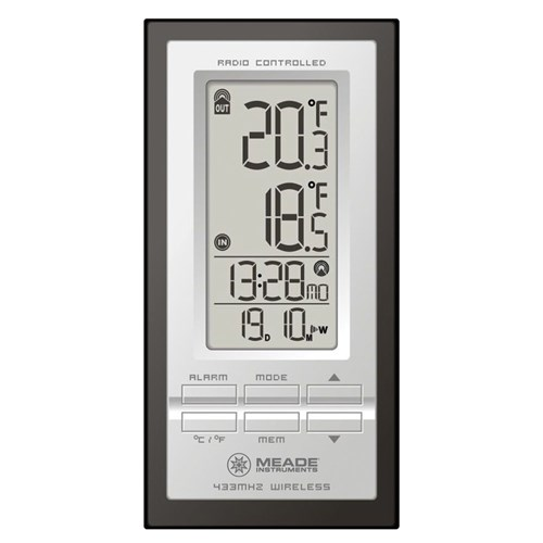Meade Instruments Personal Weather Station W  Atomic Clock Weather Station by Meade Instruments