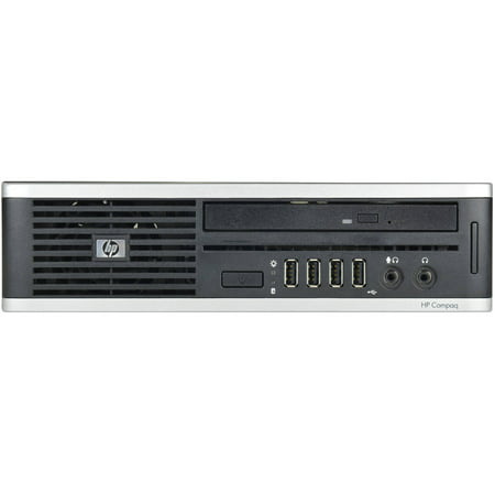 Refurbished HP Compaq 8000-USFF Desktop PC with Intel Core 2 Duo Processor, 4GB Memory, 160GB Hard Drive and Windows 10 Home (Monitor Not Included)