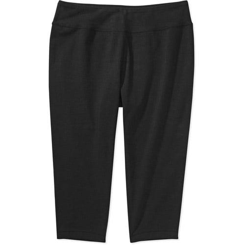 Danskin Now Women's Plus-Size Dri-More Capri Leggings