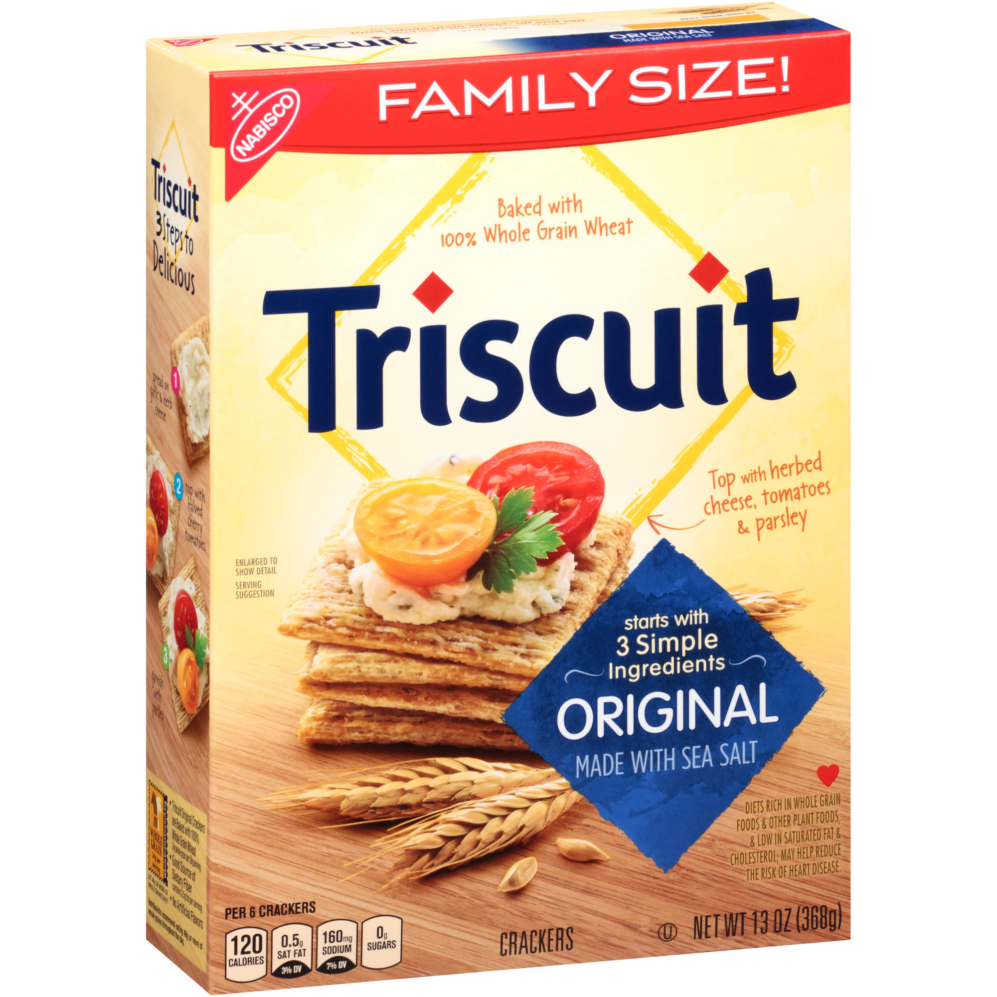 Nabisco Triscuit Original Crackers, 13 oz