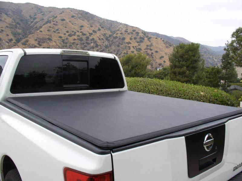 Tonnomax 2005 2015 Nissan Frontier Crew Cab 5ft Bed Soft Tonneau Cover Soft Trifold Tonneau Cover Tc13tcd050 Walmart Com Walmart Com