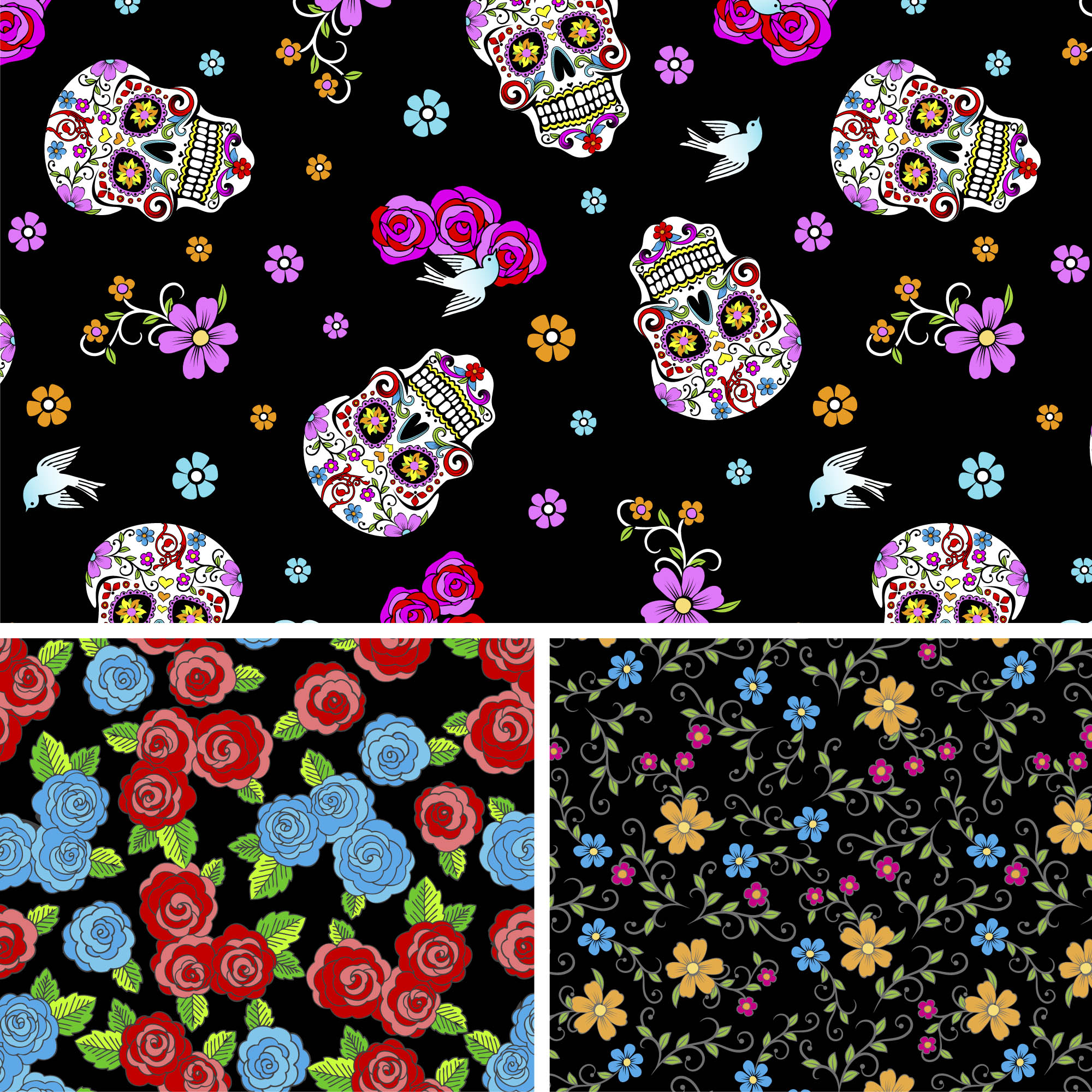 "David Textiles Cotton Pre-Cut 36"" x 44"" Mexican Heritage Collection Fabric, 1 Each"