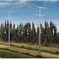 Walthers Cornerstone HO Scale Building Kit Modern Power Transmission Towers